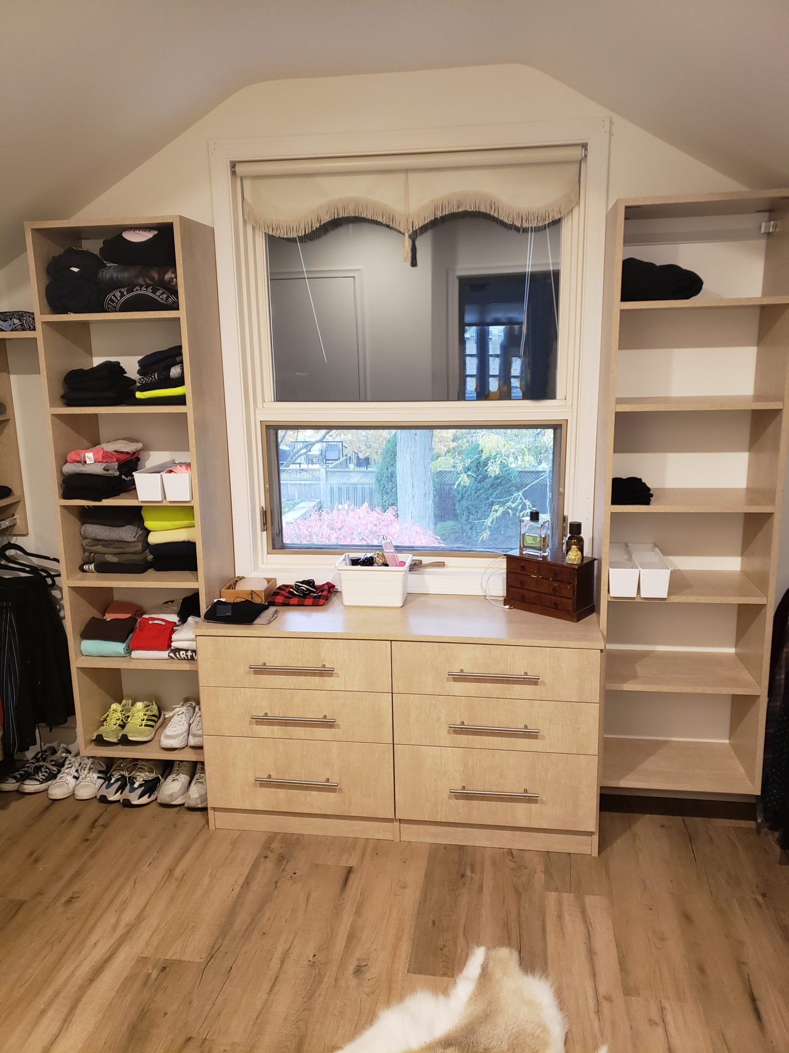 Walk in closet - After